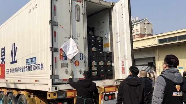 山东捐赠350吨蔬菜抵汉,今晚上餐桌