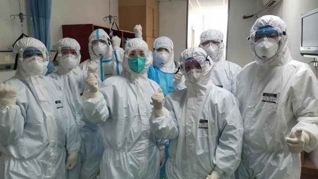 江西援鄂医疗队:接管病房通宵战斗