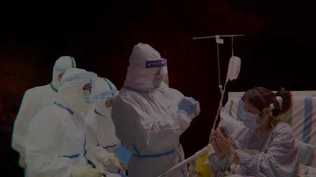 向医护人员致敬!愿你们早日凯旋!