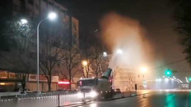 襄阳全城地毯式消毒:耗1吨消毒液