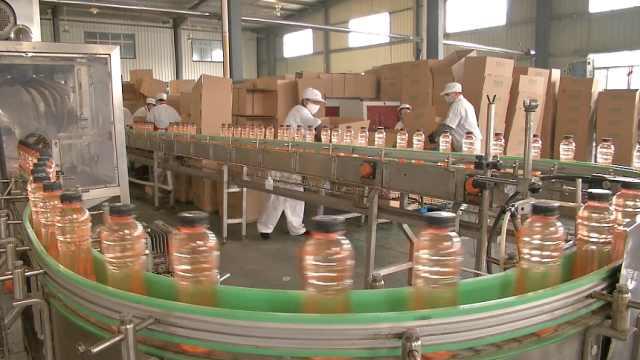 饮料企业生产消毒液:赠送医院社区
