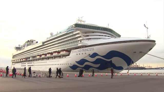日本被隔离邮轮14名中国人感染