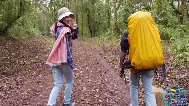 挑战非洲最高峰乞力马扎罗山第一天