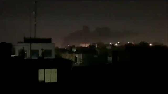 美驻伊拉克大使馆遭多枚火箭弹袭击