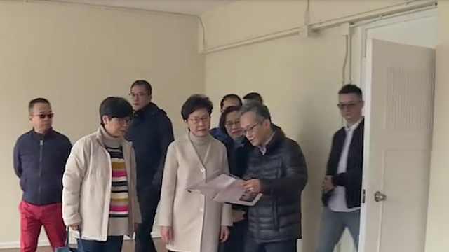 林郑月娥:同心协力打赢这场战