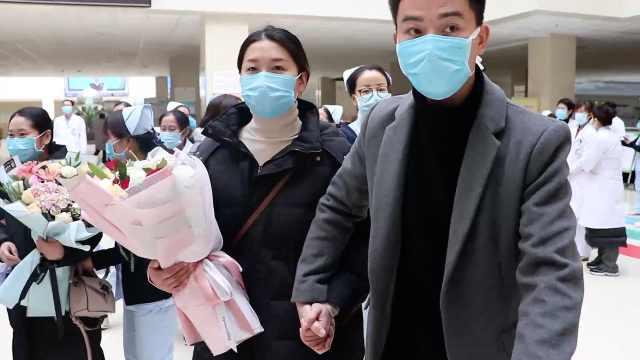 护士急赴武汉,丈夫30分钟送来行李