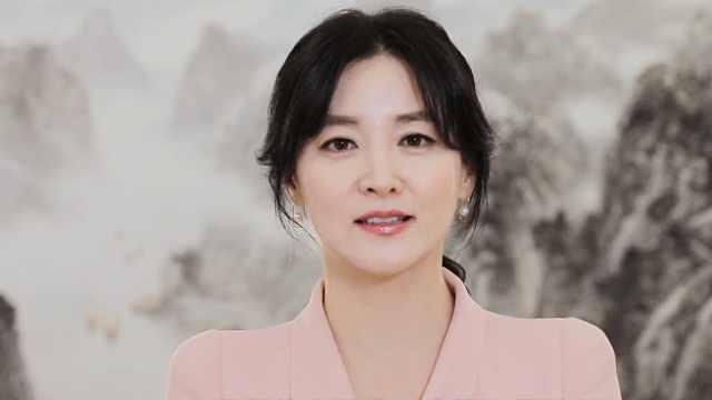 韩星李英爱录视频致敬中国医护人员