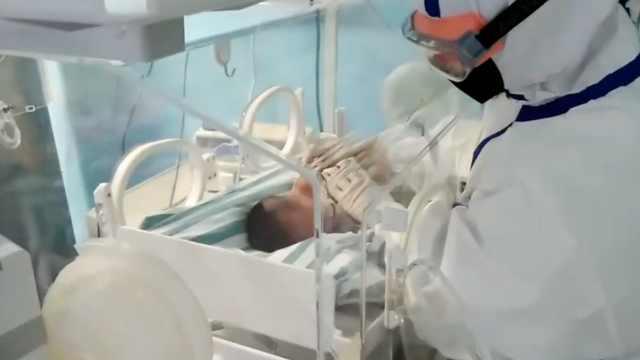 最小新冠患者出院:出生仅17天