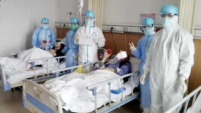 舒缓病人情绪,援鄂护士呼叫器放歌