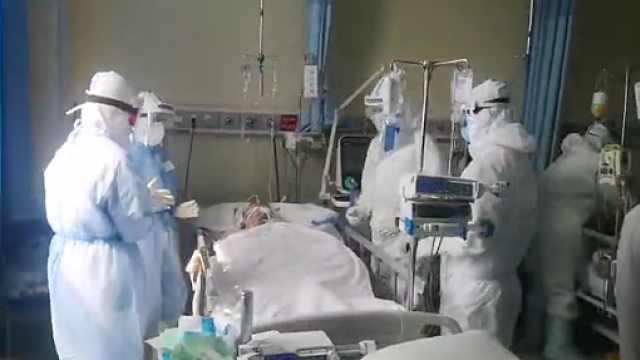 武汉一医院开临时ICU收治重症病患