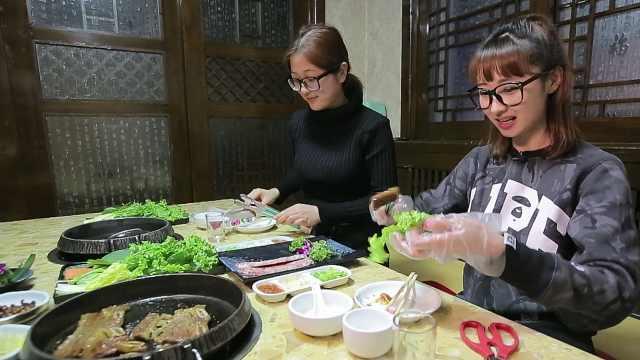 延边烧烤黄牛肉大餐