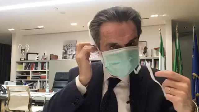 意大利470确诊,伦巴第区主席隔离