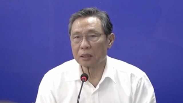 钟南山谈复阳病人:再感染可能性低