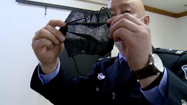 12万假口罩被查,展开如蝉翼能透视