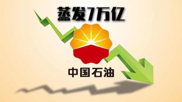 中国石油市值蒸发7万亿