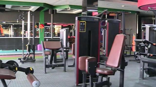 健身房推云健身,线上带领会员锻炼