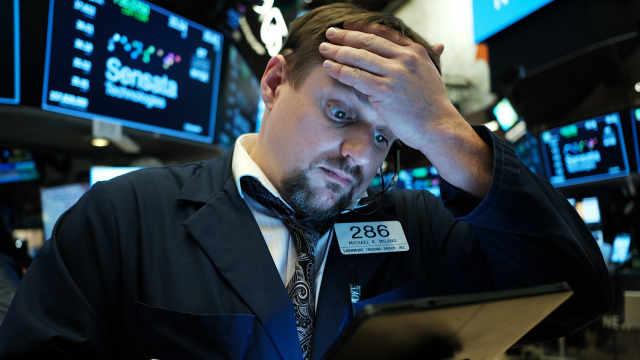 美股再现暴跌,三大股指一度陷熊市