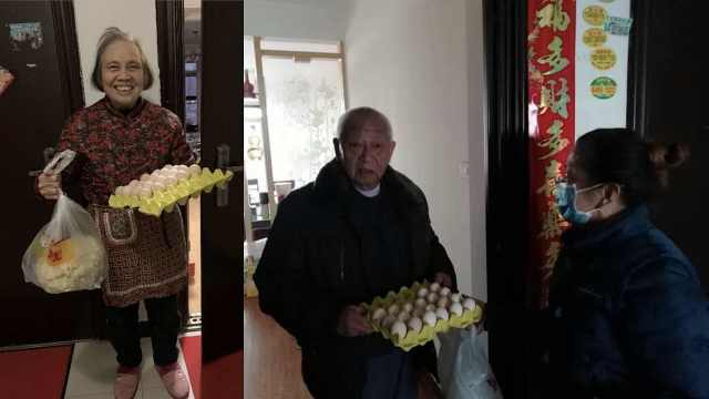 直播:疫情中的方舟,武汉志愿者为独居老人送菜