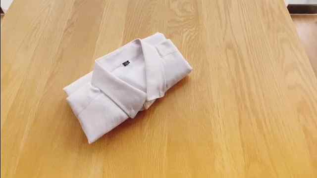 男士衬衣该怎么叠?