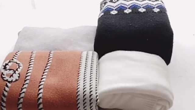 各类毛衣该怎么叠?