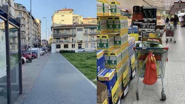 意大利留学生在家上网课:除了遛狗和买食物不准外出