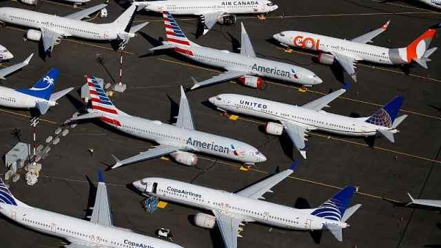 特朗普不会让波音破产,波音计划五月重启737MAX生产