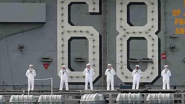 """""""尼米兹""""号舰员被感染!美太平洋舰队4航母均出现新冠疫情"""