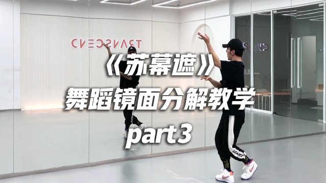 白小白编舞《苏幕遮》舞蹈镜面分解教学part3