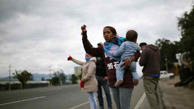 委内瑞拉难民因疫情被迫逃回国内,因隔离难以继续在他国生存