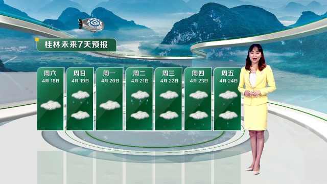 下周我市多阴雨天气,气温先升后降,雨量偏多