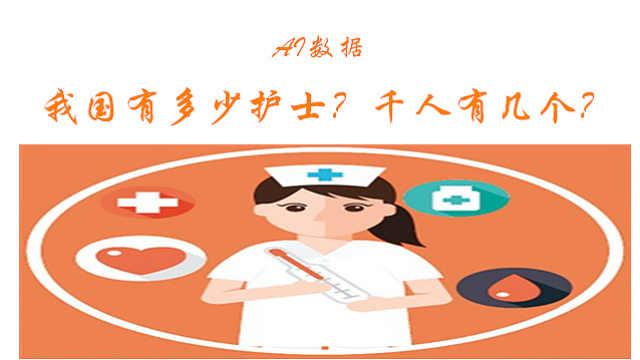 AI数据:我国有多少护士?千人有几个?