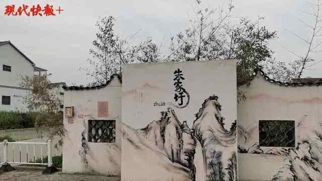 """百村调研行丨泗阳县朱家圩村:从落后小乡村到""""田园山水画"""""""