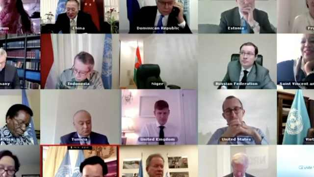 美国大使掉线了!联合国视频会议技术问题频出,影响各国磋商