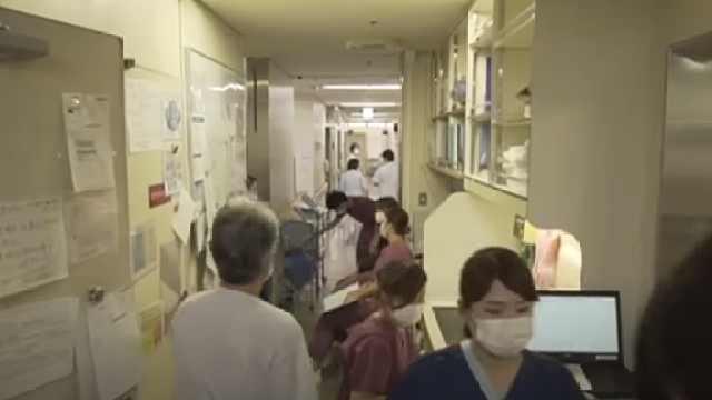 探访东京重症病房:缺乏防护用远程监控,改造病房专收新冠患者