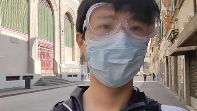 中国人在他乡   用镜头纪录疫情下真实的意大利