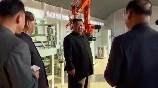 现场视频:金正恩出席朝鲜顺天磷肥工厂竣工仪式