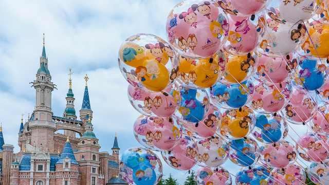 直播:全球首个迪士尼园区重新开放,上海迪士尼限流三成