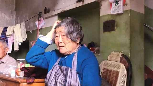 80岁阿婆进城给女儿送菜迷路了,你永远都是妈妈的心肝宝贝