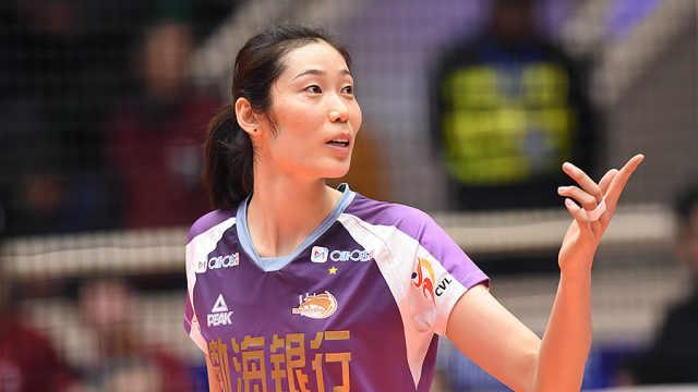 中国骄傲!朱婷入围世界女排十年梦之队