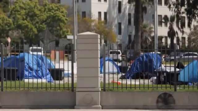 洛杉矶五千流浪汉成疫情隐忧:庇护所已出现较多病例