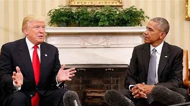 """特朗普与奥巴马到底有什么矛盾?""""奥巴马门""""又是什么?"""
