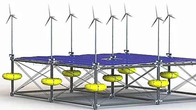 德国公司开发出首个混合可再生能源平台,能同