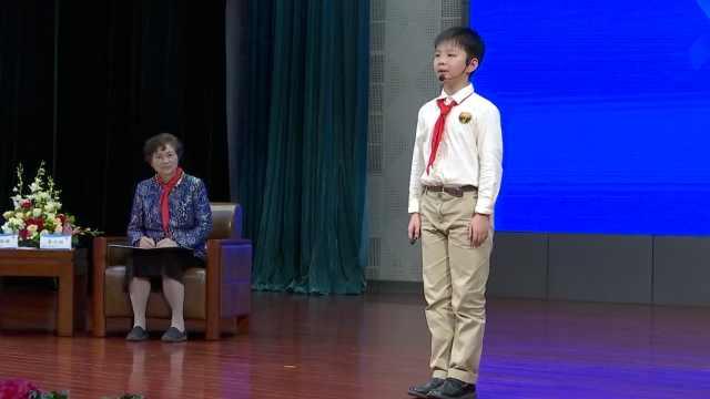 杭州一5年级小学生用数学建模分析疫情,李兰娟现场点赞