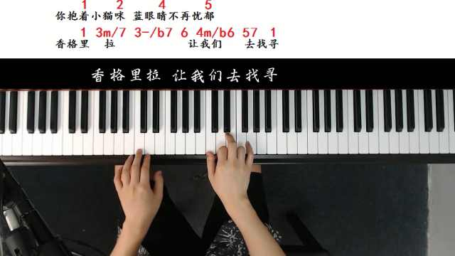 魏如萱/黄玠《香格里拉》:G和弦的根音抚平脆弱的心灵
