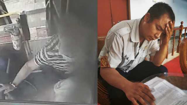 公交司机劝戴口罩遭7旬翁掌掴,报警后7旬翁因年