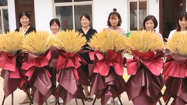 """小麦变身""""网红干花"""",超美!"""