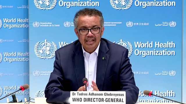世卫组织称全球疫情进入危险新阶段,单日新确