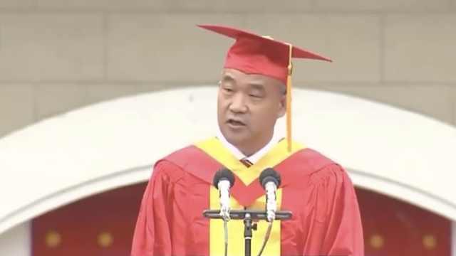 武汉大学校长毕业致辞:武大明年将开放樱花节医护专场