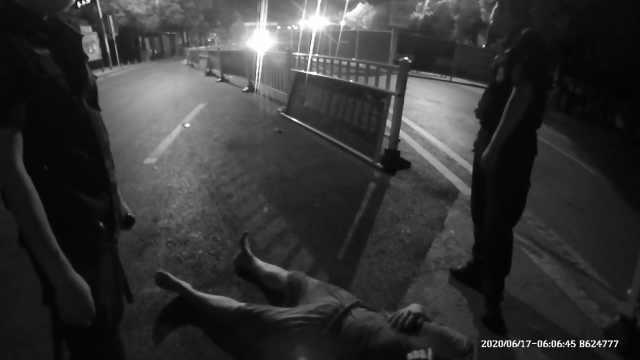 """感情遇挫33岁男子买醉跳湖 :获救后向民警""""撒"""