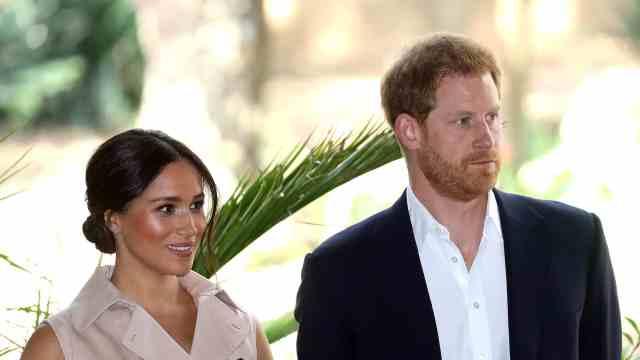 哈里王子夫妇找到工作了!每次发言或有880万元